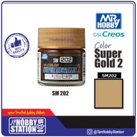 Mr Color Super Metallic Super Gold 2 - Paint Cat Gundam Model Kit