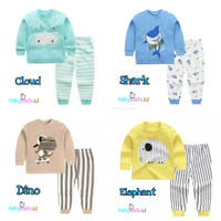 Baju Piyama - Setelan Bayi dan Anak Laki - Laki Perempuan Import