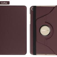 amsung Tab A 8 8.0 A8 2019 S-Pen P205 Leather Flip Cover Case Casing - Cokelat