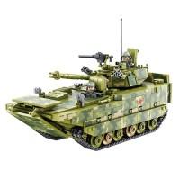 Brick Panlos 632007 Military Main Battle Tank ZDB-05 Chariot Lego
