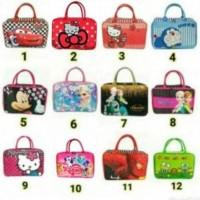 original product Tas Travel Bag Kanvas Besar motif Anak (KODE