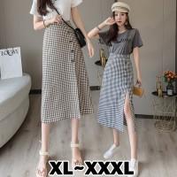 (#823 BIGSIZE XL/XXL/XXXL)Nicola Skirt/ Korean Maxi Skirt/Rok Kotak