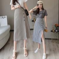 (#823)Nicola Skirt/Korean Maxi Skirt/Rok Kotak