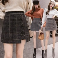 (#827)Minju Skirt/Rok Mini/Rok Pendek/Korean Mini Skirt