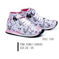 9554GJJ,sepatu boots/sneaker anak perempuan/cewek sepatu sekolah anak