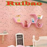 Wallpaper 3D Modern Foam Batu Bata 70 X 77 cm / Wall Sticker A2