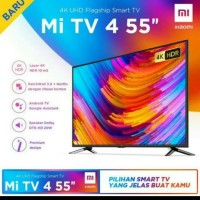 XIAOMI 55 INCH SMART LED TV 55A4 4K ULTRA HD HDR ANDROID 9.0 NETFLIX