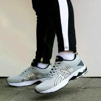 Sepatu Voli Asics Kayano Grey Import Premium/ Tenis / Badminton / Lari