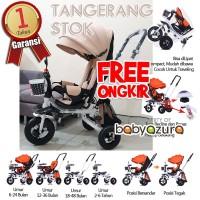 Tricycle import sepeda stroller anak sepeda bayi roda tiga murah