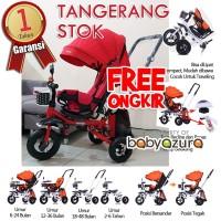 Sepeda bayi stroller sepeda anak tricycle roda tiga sepeda lipat