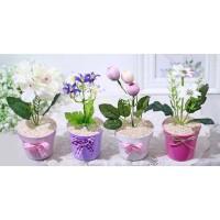 1 SET ISI 4 ANEKA Bunga plastik artificial bunga hias dekorasi A1-9