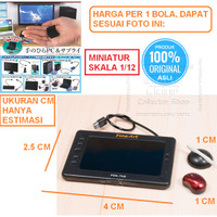 Miniatur 1/12 Pen Tablet + Mouse Tenohira PC Supply Gashapon Gacha SHF