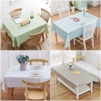 Square Waterproof Table Cloth / Taplak Meja Makan PEVA Anti Air Kecil