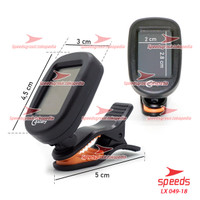 Tuner Gitar Digital Chromatic Clip On Auto Tuner SPEEDS 049-18