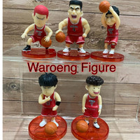 Slam Dunk Shohoku Red Jersey Figure Set NEW MODEL