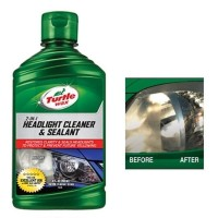 Turtle Wax Headlight Cleaner and Sealant /pengkilap lampu mobil /poles