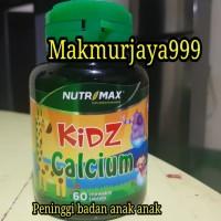 Peninggi badan anak anak..Nutrimax kids calcium
