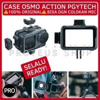 ✅PGYTECH CASE FRAME CAGE DJI Osmo Action CAM BRACKET COLD SHOE