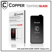 Realme 6 Pro - COPPER Tempered Glass Full Glue ANTI GLARE - MATTE