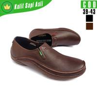 Sepatu Formal Pria KicKers Original Sepatu Slip On Kulit Casual