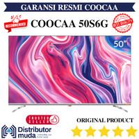 Coocaa 50 inch LED 4K Ultra HD Android Smart TV 50S6G - Garansi Resmi