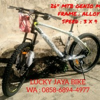 "Sepeda MTB 26"" Genio 571 Frame Alloy"