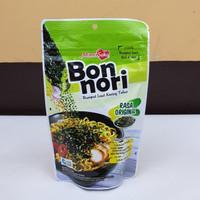 [satuan] BON NORI Rumput Laut Tabur Original / Pedas 60 gram