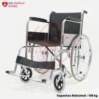 Juara JM 03 Kursi roda standar rumah sakit wheelchair murah JM03