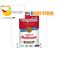 Campbell's campbells campbell cream of mushroom soup 298g