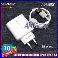 Charger Oppo SUPER VOOC 65 Watt ORIGINAL 100% USB C Resmi Indonesia
