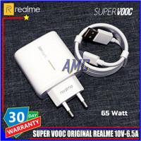 Charger Realme SUPER VOOC 65 Watt ORIGINAL 100% USB C Resmi Indonesia