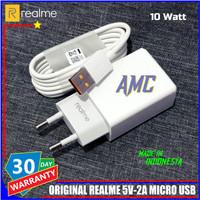 Charger Realme Flash Charging ORIGINAL 100% Micro USB 5V-2A 10 Watt