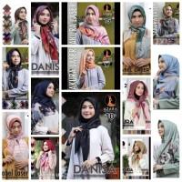 Hijab Kerudung Jilbab Segi Empat Katun Voal Motif LASERCUT AZARA Impor