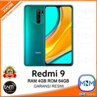 Xiaomi Redmi 9 4/64 RAM 4GB ROM 64GB Garansi Resmi - Hijau