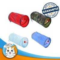 Cat Play Rattle Tunnel / Terowongan Mainan Kucing Kerincingan Bola