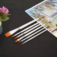 Kuas Lukis Cat Air Akrilik Set Oil Paint Brush