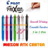 PILOT FRIXION 3 IN 1 !!! IMPOR JEPANG BISA DIHAPUS (0'5)