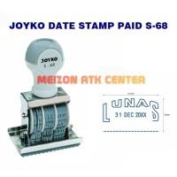 Stempel Tanggal & Lunas Joyko / Date Stamp & Paid S-68