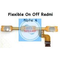 Flexible On Off Xiaomi Redmi Note 4 Original Terlaris New