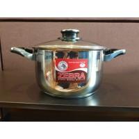 NO BOX Zebra Sauce Pot Vitalux Plus 22 Cm (162222-1) / Panci Masak SS