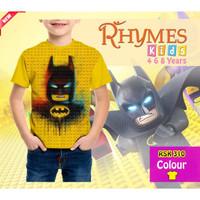 Kaos Tshirt Anak Superhero Batman Lego Murah