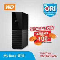 WD MYBOOK - WDC MY BOOK DESKTOP 3.5 Inch 6TB - HDD External Desktop