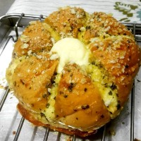 Garlic Bread Cream Cheese