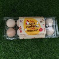 Belibu Bandung - Telur Ayam Kampung Arab (10 pcs)