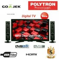 POLYTRON TV LED DIGITAL 32 inch - PLD32TS1503 + SPEAKER TOWER