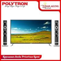LED TV POLYTRON PLD 50TS883 / 50 TS 883 + TOWER SPEAKER HD TV 50 inch