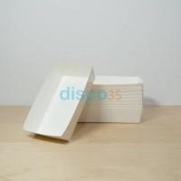 Paper tray/Piring Kertas/Piring Makan/Food Tray sz M