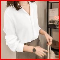 yovela kemeja elly blouse wanita pilihan monalisa 4 warna bahan