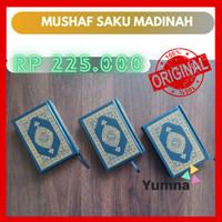 Al Quran Madinah Cetakan Asli Malik Fahd Saku Kantong Praktis Dibawa