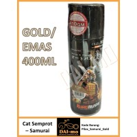 Cat Semprot Samurai Paint warna Gold/ Emas 400 ml Pylox/ Pilox/ Piloks
